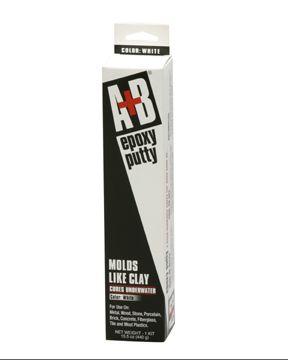 A B Epoxy Putty 14 Oz Kit White Anderson Manufacturing